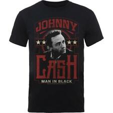 OFFICIAL LICENSED - JOHNNY CASH - MAN IN BLACK T SHIRT ROCK COUNTRY