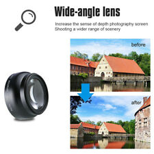 Wide Angle Lens HD 0.45x with Macro Lens For Canon Nikon Sony Pentax 52MM / 58MM