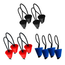 Pack of 4 Universal Silicone Kayak Scupper Plugs Canoe Drain Holes Stopper