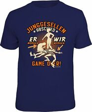 Young Journeymen Abschied T-Shirt - ER Morning - Game Over - Bachelor´s Party