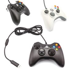 1.8m LED USB Dual Shock PC Computer Wired Gamepad Game Controller Joystick US