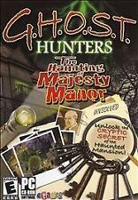 G.H.O.S.T. Hunters: Haunting of Majesty Manor (PC, 2007) New! XP E-10