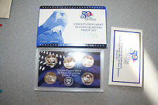 2006,United States Mint 50 Quarters Proof Set,5 Coins,Coa,Gift,Free Shipping,535