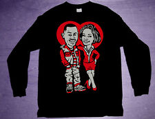 New 11 air bred Long Sleeve Martin shirt jordan xi cajmear low black red M L 2XL
