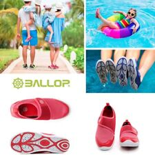 BALLOP Women's Aqua fit shoes Bl Water Wet Boat Swim Shoes Quick Drying Red