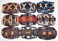 """Double Magic Hair Combs, Angel Wings Clips 4x3.5"""", African Butterfly,Quality S22"""