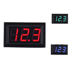 3 Digit LED DC 4.5-30V Digital Voltage Meter Panel Voltmeter 2 Wire LED
