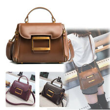 Vintage Women's Shoulder Bag Messenger Crossbody Tote Ladies Satchel PU Leather