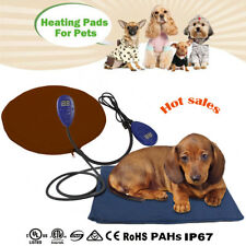 Dogs Cat's Rabbit Electric Heating Mat Pad Bed Heater Safety Pet Heated Blanket