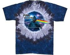 OFFICIAL LICENSED - PINK FLOYD - ABYSS TIE DYE DARK SIDE OF THE MOON T SHIRT