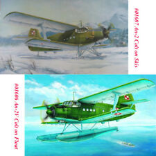 Trumpeter 01606 01607 1/72 Antonov An-2V Colt on Float/An-2 Colt on Skis Model