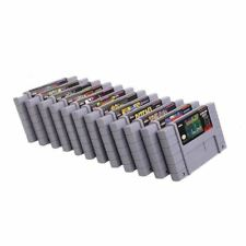 Super Nintendo SNES Nintnedo NES Games Installed in Brand New Gaming Cartridges