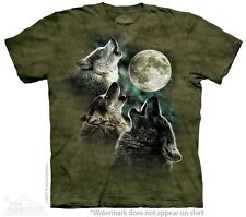Three Wolf Moon Kids T-Shirt from The Mountain. Wolves Boy Girl Child Sizes NEW