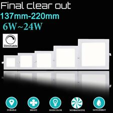 6-24W Dimmable LED Recessed Ceiling Panel Down Lights Bulb Lamp F Indoor Home AS