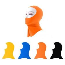 Elastic Swimming Cap Head Sunscreen Full Face Mask Diving Hood UV Rash Guard