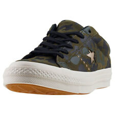 Converse One Star Ox Womens Trainers Camouflage New Shoes