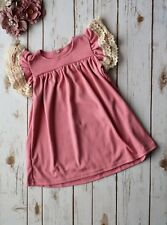 NEW Spring Pink Boutique Custom Dress 2T - 3T - 4T - 5/6 - 6/7
