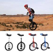 "16"" 18"" 20"" Unicycle Cycling Scooter Circus Bike Skidproof Tire Balance Exercise"
