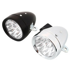 Retro Bicycle Bike Front Light Lamp Battery 7 LED Headlight Scratch Resistance