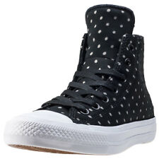 Converse Ct Allstar Ii Hi Shield Womens Trainers Black White New Shoes