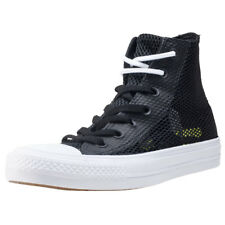 Converse Ct All Star Hi Ii Lunarlon Unisex Trainers Black White New Shoes