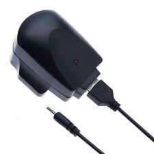 Mains Charger for Nokia 2mm Small Pin USB Cable + AC Adaptor (UK Wall Plug)