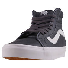 Vans Sk8-hi Reissue Womens Trainers Dark Grey New Shoes
