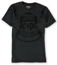 AC/DC Men's Hells Bells ACDC Licensed T-Shirt Heather Charcoal Size Small New