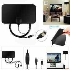 USB Indoor Digital TV Antenna 50 Miles Range Signal 1080P Amplified Booster HDTV