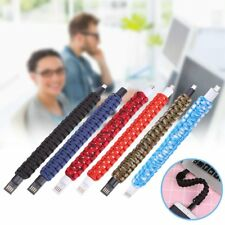 Outdoor Bracelet Micro USB Data Sync Charging Cable For Andriod Phones