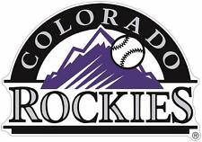 Colorado Rockies Color Die Cut Decal Car Sticker Cornhole Sizes Free Shipping