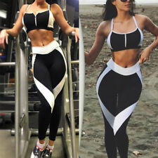 Sexy Womens Fitness Leggings Running Yoga Gym Pants Workout Wear Clothes LQ