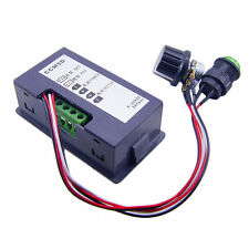 DC 6-30V 12V 24V MAX Motor PWM Speed Controller With Didital Display & Switch AU