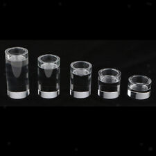 Romantic Clear Crystal Glass Candle Holder Tealight Stand for Wedding Home Decor