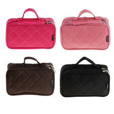Multifunction Makeup Brush Case Travel Cosmetic Bag Pouch Toiletry Organizer