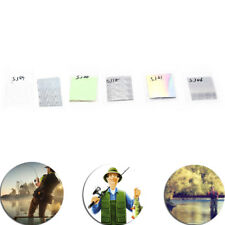 10X7cm Holographic Adhesive Film Flash Tape For Lure Making Fly Tying Materail