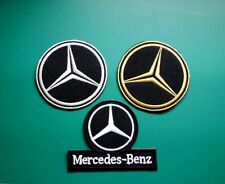 Benz Embroidered Logo Sew Iron On Patch for luxurious Car Mercedes Benz Gift new