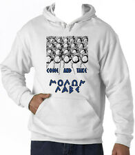 SPARTANS SPARTAN COME AND TAKE - NEW COTTON WHITE HOODIE
