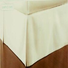 "Martha Stewart  Bedskirt, 16"" Drop, Off White, NWT FS"