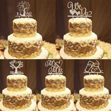 Rustic Wooden Cake Topper Party Decorations Wedding Cake Decoration