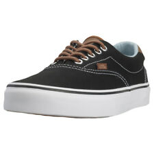 Vans Era 59 Mens Trainers Black Denim New Shoes