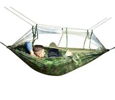 Hammock Mosquito Tent Camping Bug Outdoor Swing Double Free Outdoors Bed Travel
