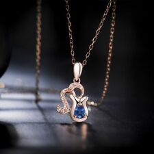Pendant Exquisite Crystal Necklace Constellation Rose Gold Plated Jewelry