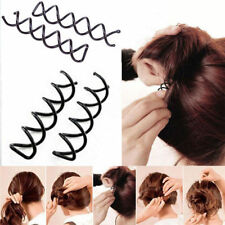 5/10x Spiral Spin Screw Bobby Pin Hair Clips Lady Twist Barrette AccessoriesSN