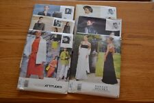 New Vogue Designer Patterns Dresses Gowns Suits Jackets Wardrobe Vintage Retro