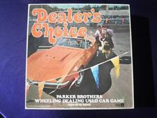 DEALER'S CHOICE - 1972 Parker Brothers Used Car Board Game - Complete