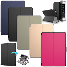 For Apple iPad 9.7 5th Gen 2017 Smart Flip Case Stand luxury Leather Slim Tablet