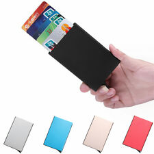BEST Thin Small Pocket Business Credit Card ID Wallet Case Holder for Men Women