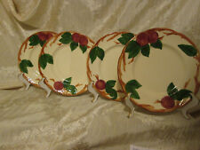 Franciscan Apple Salad And Bread And Butter Plates. California, USA And England