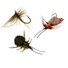Fly Fishing Lure Flies Bass Salmon Trout Insects Baits Floating Flies Lures